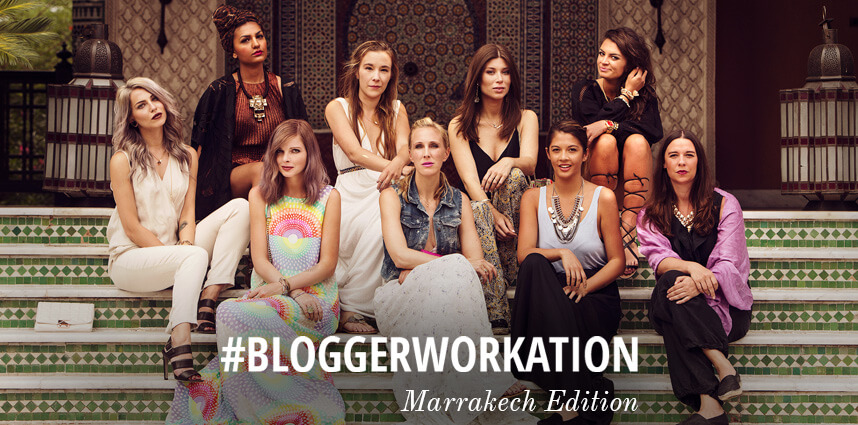 Bloggerworkation Goes Marrakech