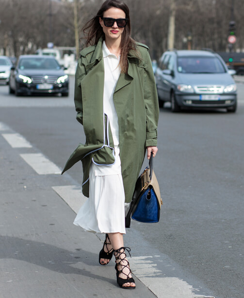 Find what you stand for: Parisian Chic