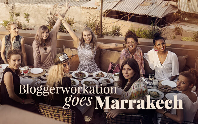 Bloggerworkation MYBESTBRANDS Marrakech