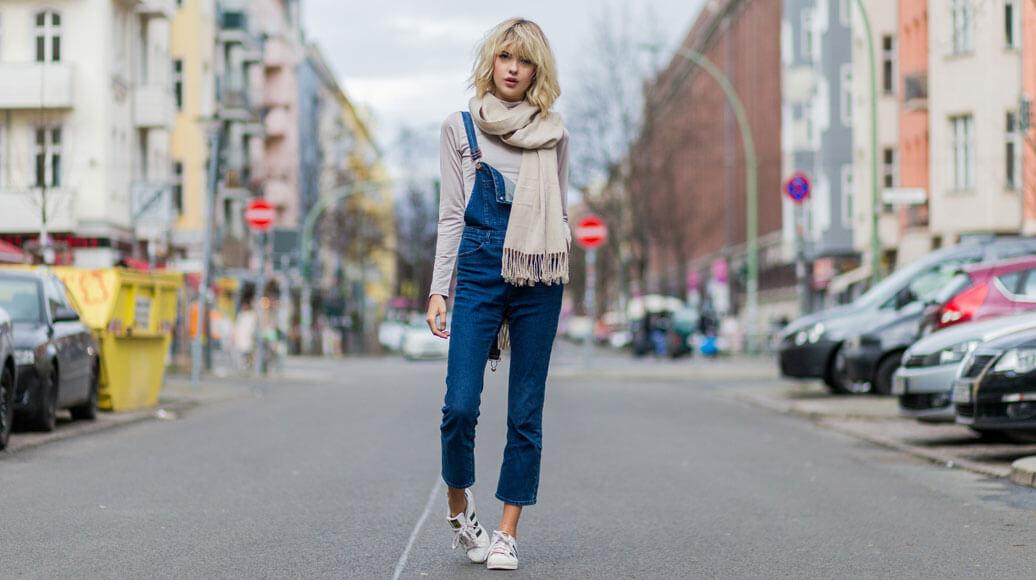 Wählen Sie für späteste bezahlbarer Preis schönes Design Jeans Latzhose Damen