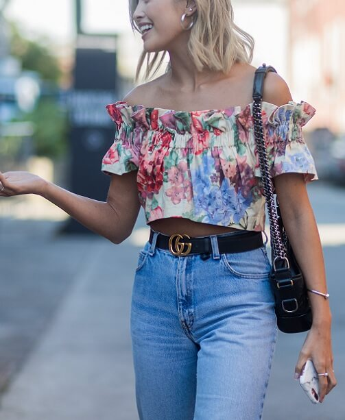 Trend 2019: Off-Shoulder Looks
