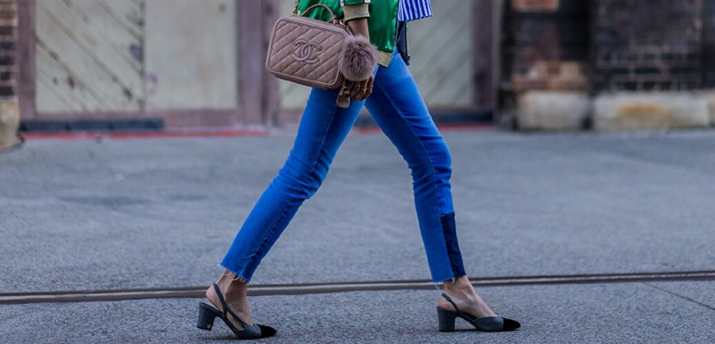 Cropped Jeans and Chanel Bag