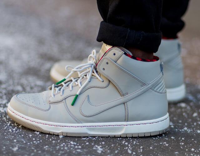 High Top Sneaker Trend für Herren