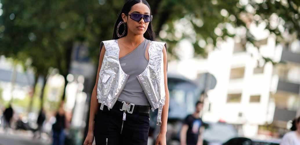 Die Metallic Jacke – das Must have im Jahr 2019