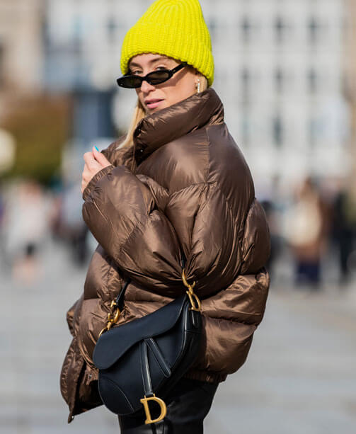 Mode-Trend im Winter: Puffy Jackets