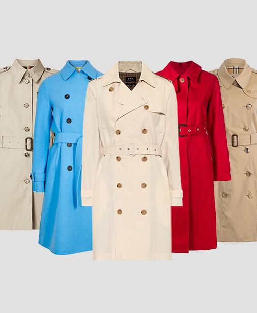 5 klassische Trenchcoat-Marken